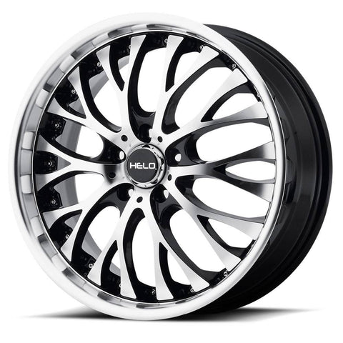 HELO Wheels HE890 Black Machine