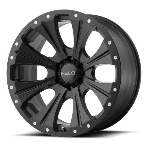 HELO Wheels HE901 Satin Black