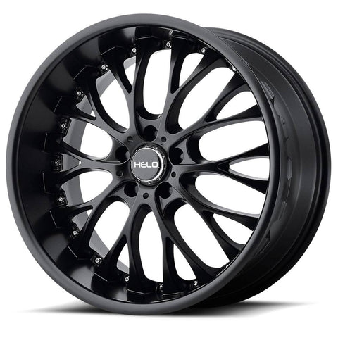 HELO Wheels HE890 Satin Black
