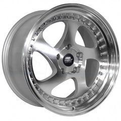 MST Wheels MT15 Silver