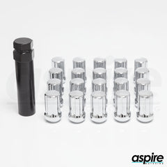 Spline Chrome Lug Nuts