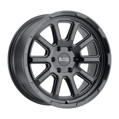 Black Rhino Wheels Chase Matte Black