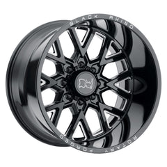 Black Rhino Wheels Grimlock Black Milled