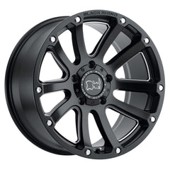 Black Rhino Wheels Highland Matte Black