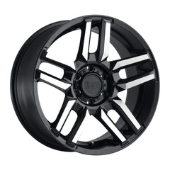 Black Rhino Wheels Mesa Black Machine