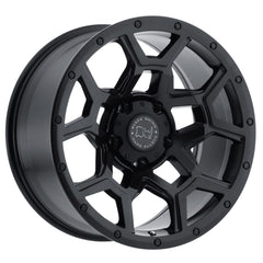 Black Rhino Wheels Overland Matte Black