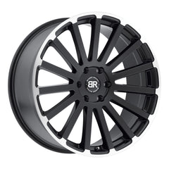 Black Rhino Wheels Spear Black Machine Edge