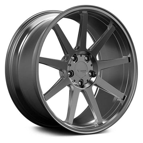 Verde Wheels VFF02 Brushed Dark Palladium