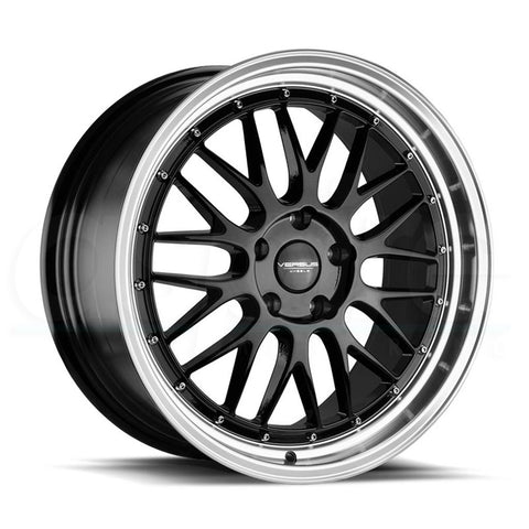 Versus Wheels VS243 Black Machine Lip