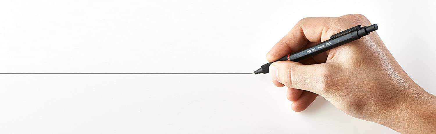 rOtring Rapid Pro Retractable Ballpoint  - Black - Made By Ethereal