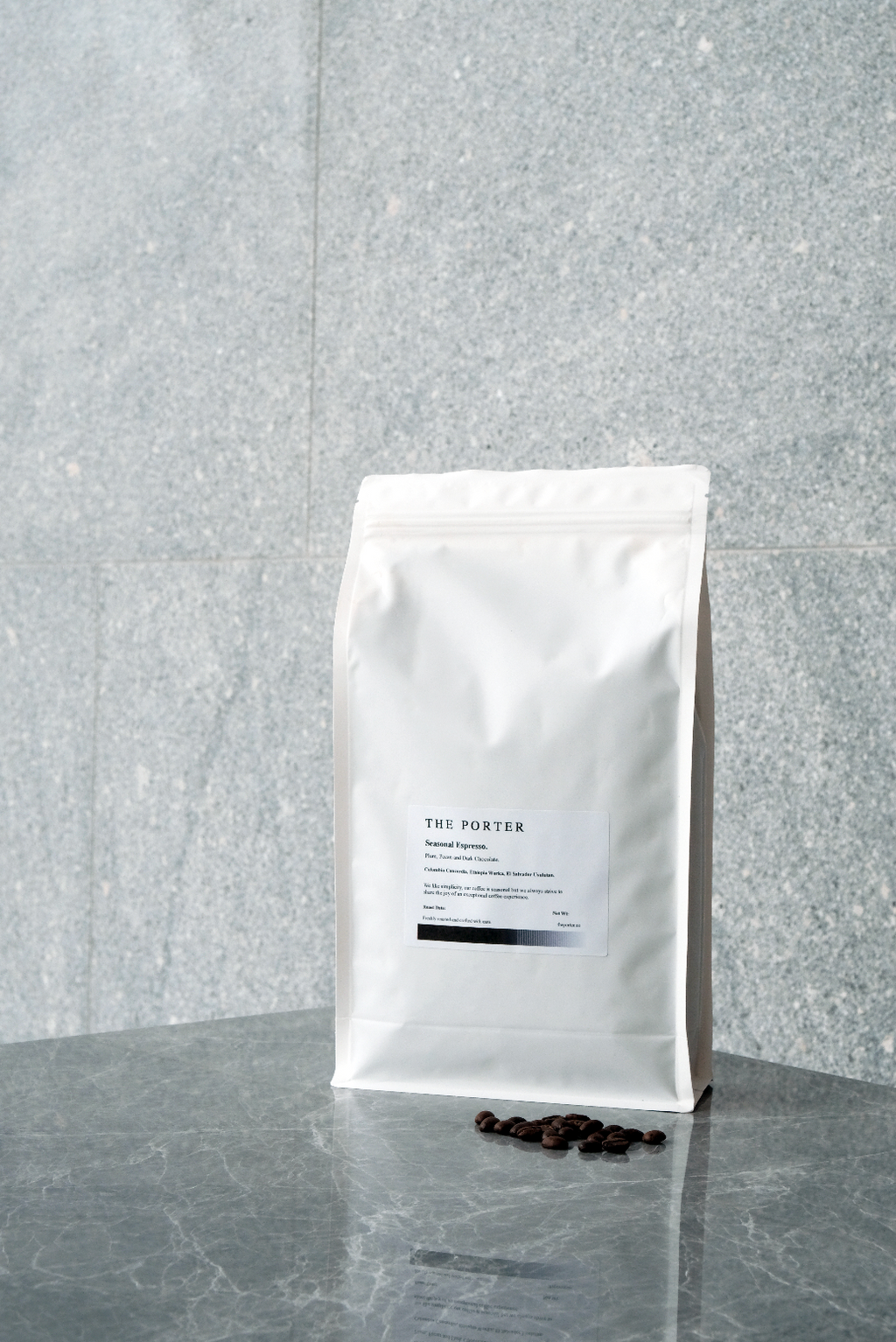The Porter Seasonal Espresso Blend Coffee Beans (1kg) - Theporter.co
