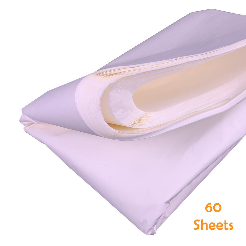 White Wet Strength Tissue Paper  60 Sheets