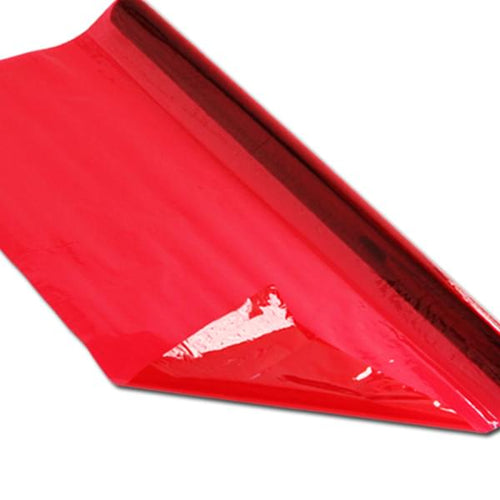 Cellophane 4.5m Roll Red