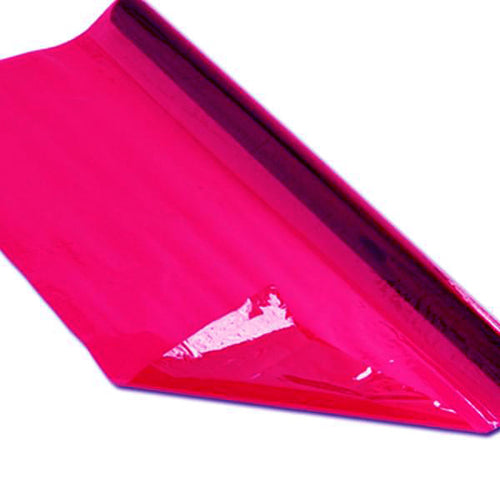 Cellophane 4.5m Roll Pink