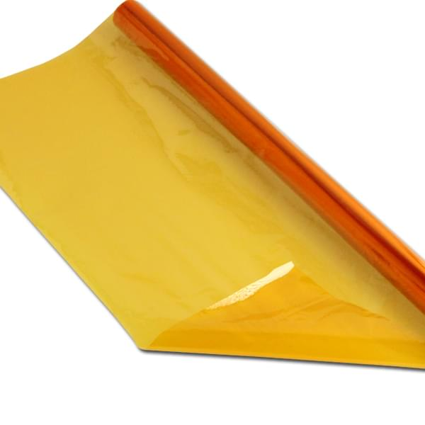 Cellophane 508mm by 4.5m Roll - Yellow