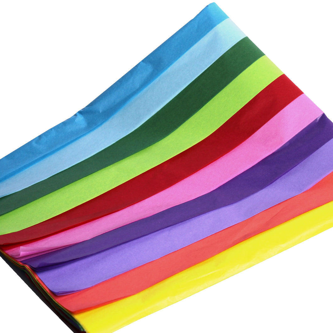 Multi Coloured Tissue Paper