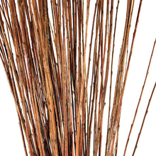 Load image into Gallery viewer, A close up of our buff willow sticks (withies).