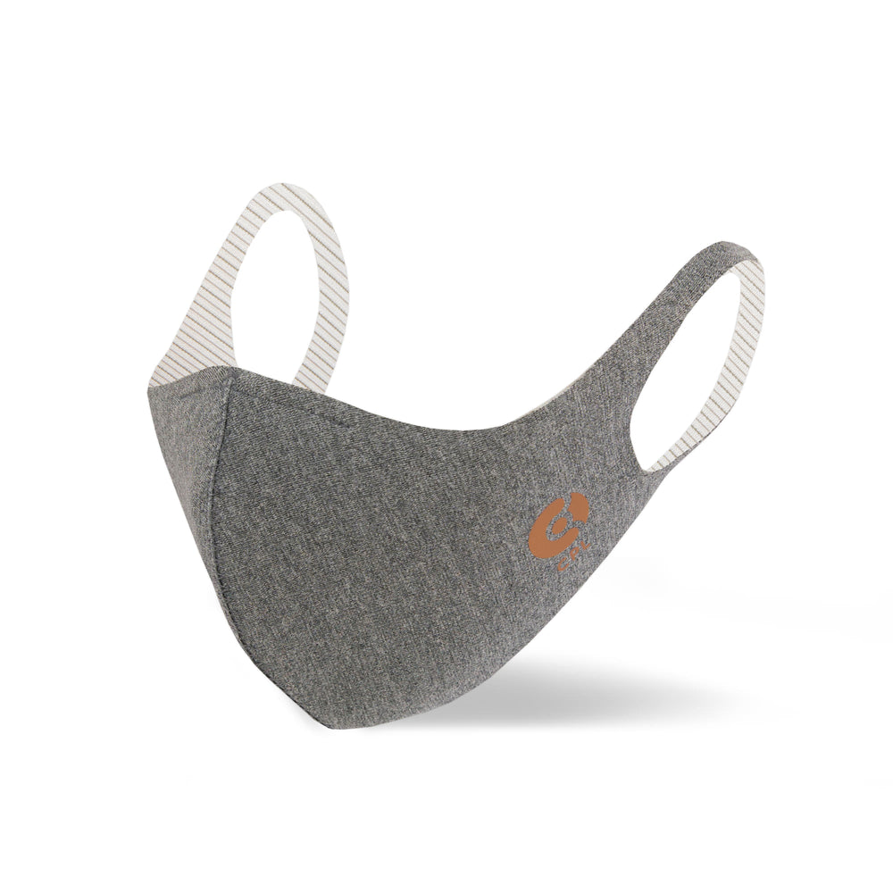 Antivirale Atemmaske Coppermask, Granite Grey