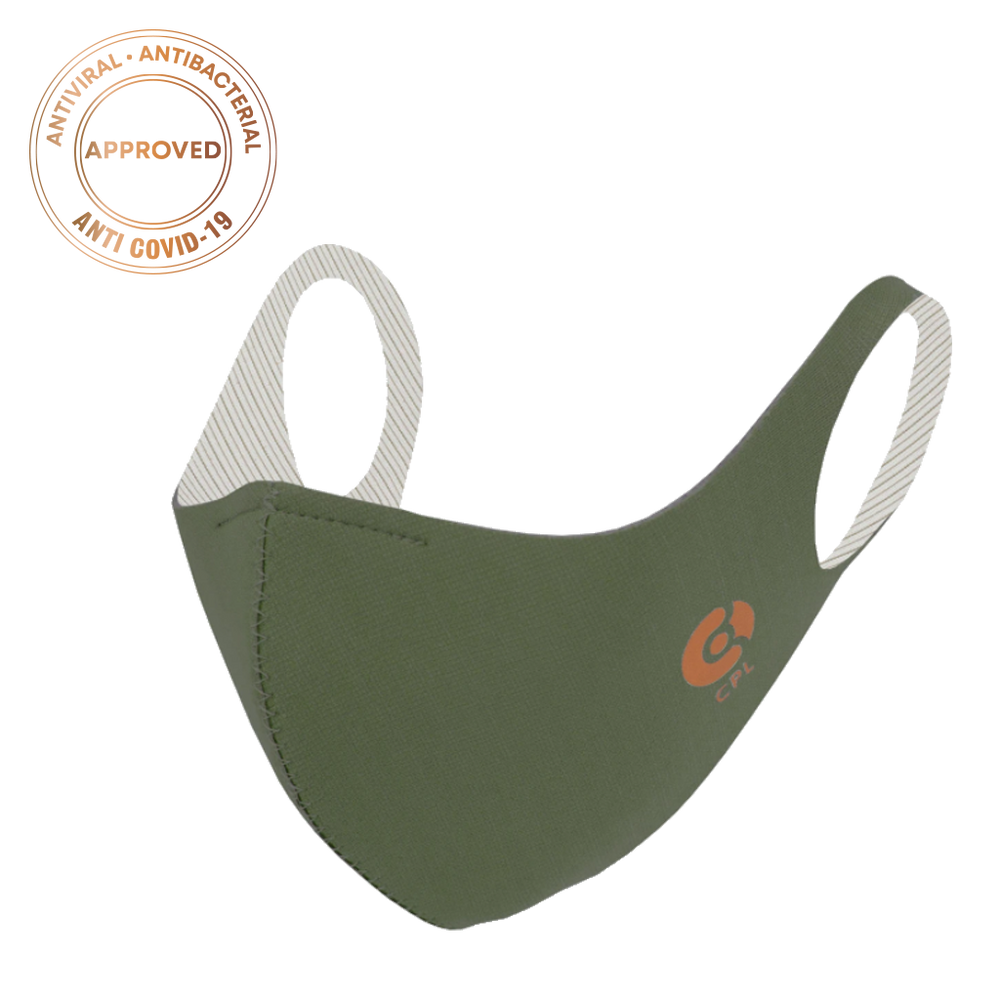 Laden Sie das Bild in den Galerie-Viewer, Antivirale Atemmaske Coppermask, Olive Green