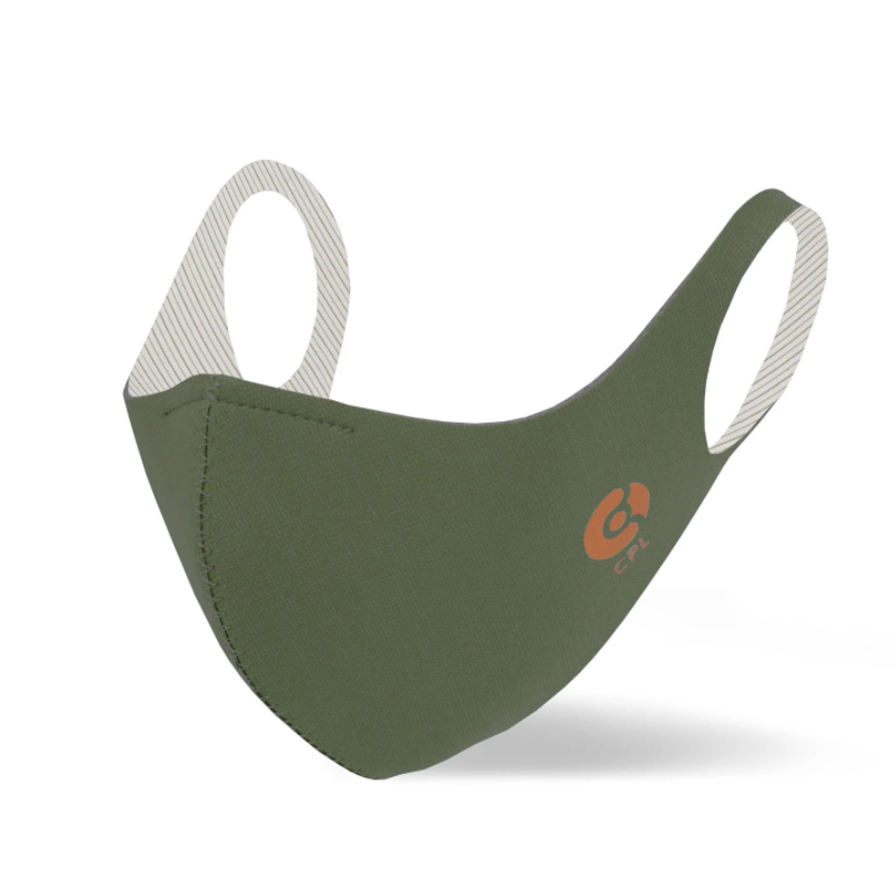 Antivirale Atemmaske Coppermask, Olive Green