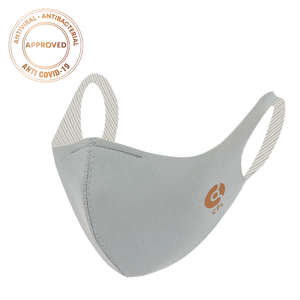 Laden Sie das Bild in den Galerie-Viewer, Antivirale Atemmaske Coppermask, Light Grey