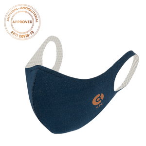 Laden Sie das Bild in den Galerie-Viewer, Antivirale Atemmaske Coppermask, Navy Blue