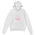 Cello Hoodie 2.1 [White+Hot-Pink]