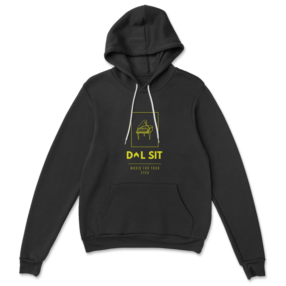 Piano Hoodie 4.1 [Black+Yellow]