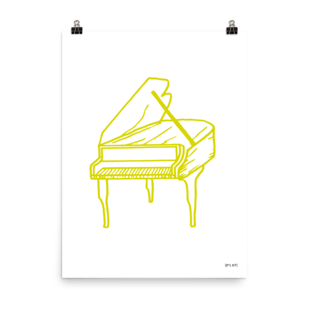 Piano Poster 4.1