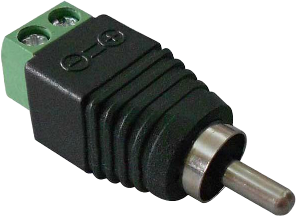 BNC Connector RCA Male Connector with Screw Terminal