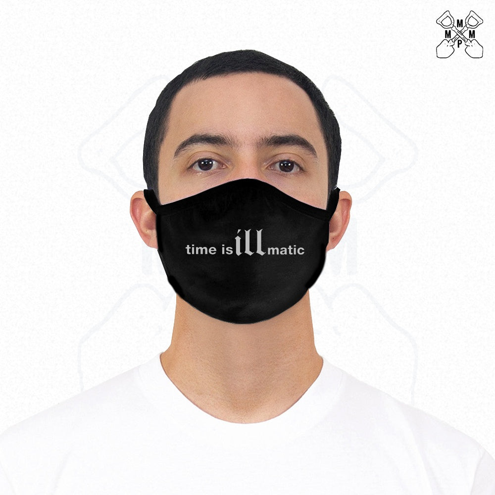 Time is illmatic Face Mask - Black