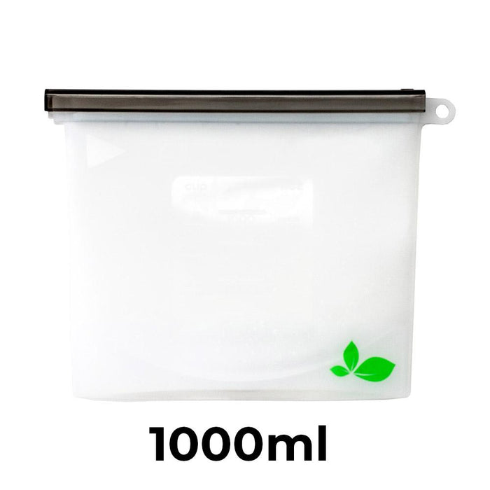 ACTIVATED ECO Silicone Food Storage Pouches - Set of Two 1000ml