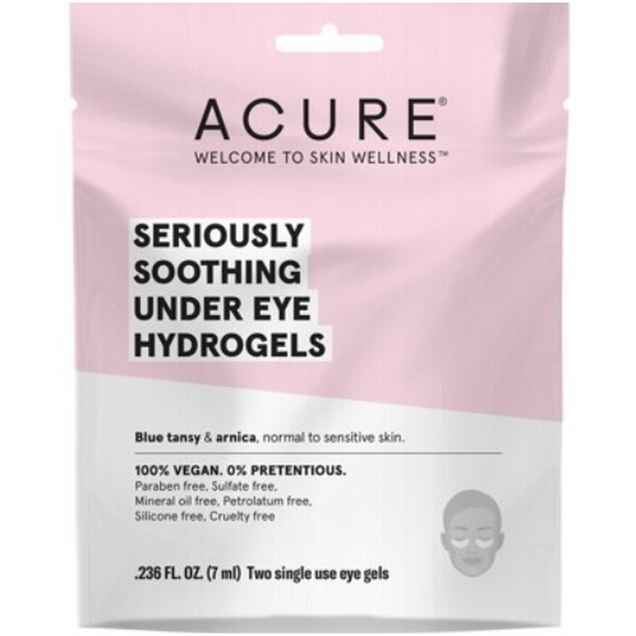 ACURE Seriously Soothing Under Eye Hydrogel Mask - 7ml