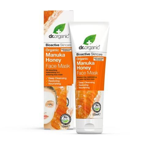 DR ORGANIC Face Mask Organic Manuka Honey 125ml