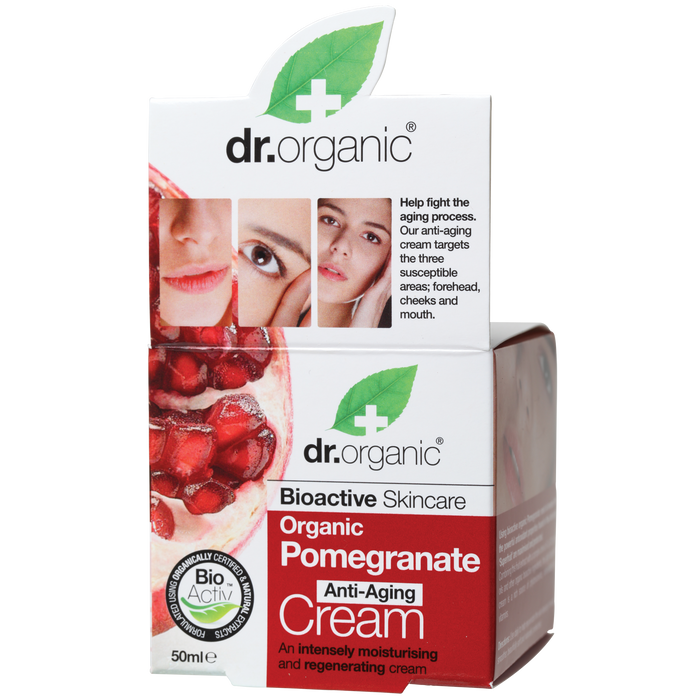 DR ORGANIC Anti-aging Cream Organic Pomegranate 50ml