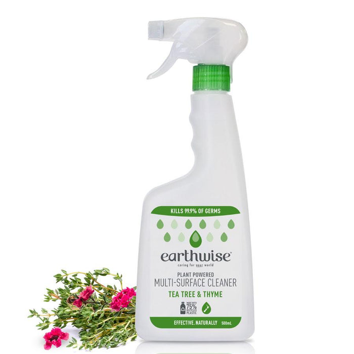 EARTHWISE Multi-Surface Cleaner Tea Tree & Thyme 500ml