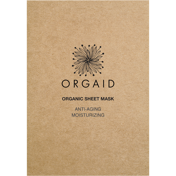 ORGAID Sheet Mask Anti-Aging 24ml
