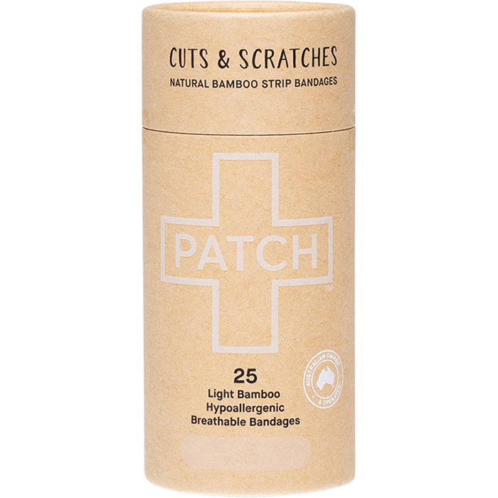 PATCH Bamboo Bandages Natural 25