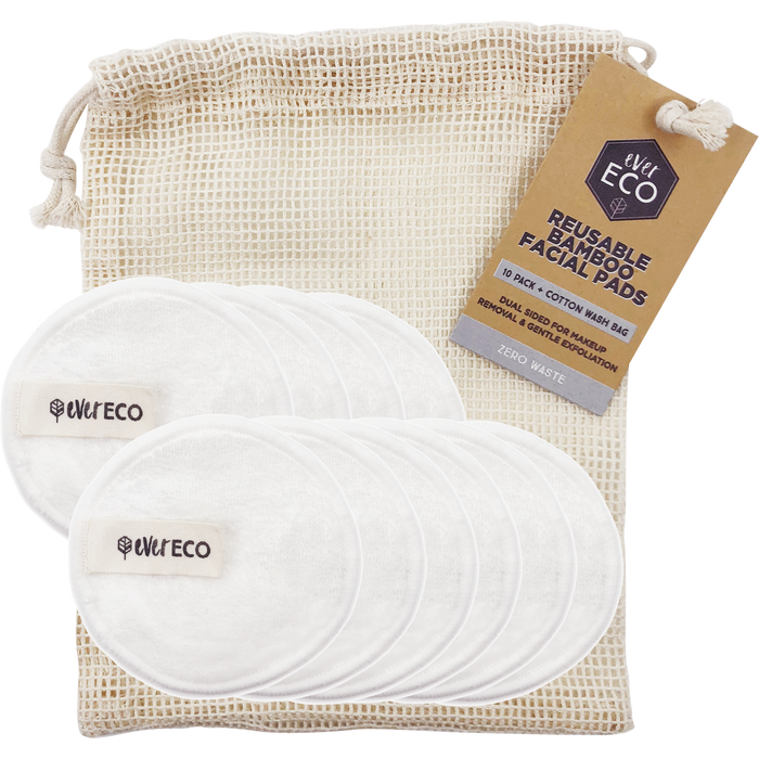 EVER ECO Bamboo Facial Pads 10 Pack