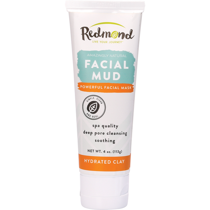 REDMOND CLAY Facial Mud Hydrated Bentonite Clay 113g