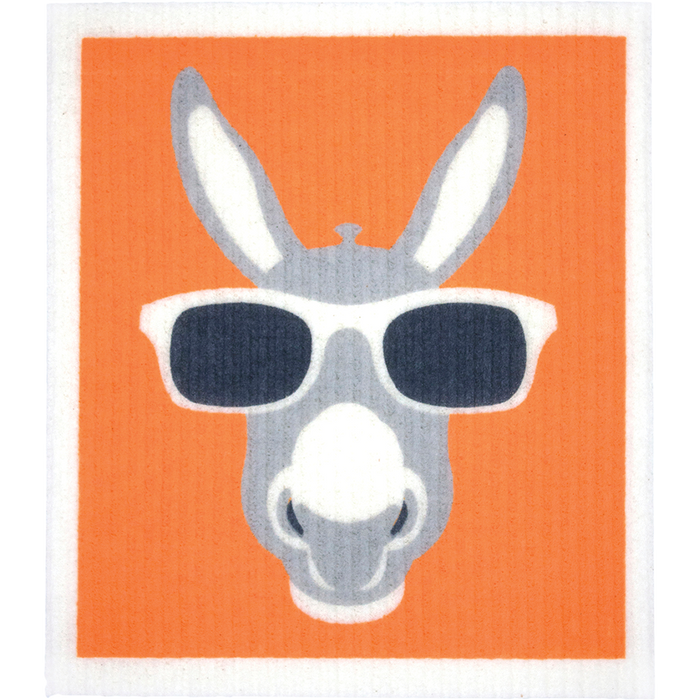 RETROKITCHEN Dishcloth Donkey x 1