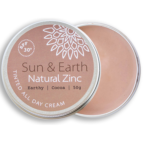 SUN & EARTH Tinted All Day Cream - Earthy Cacao
