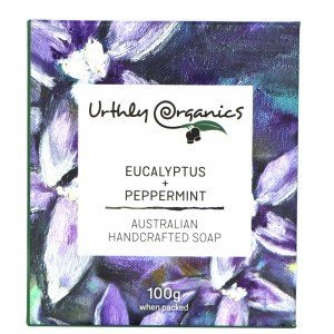 URTHLY Peppermint & Eucalyptus Soap
