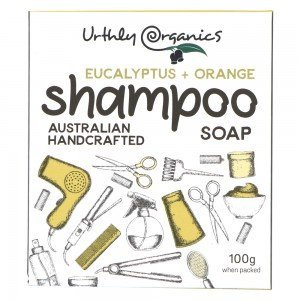 URTHLY Orange & Eucalyptus Shampoo Soap Bar