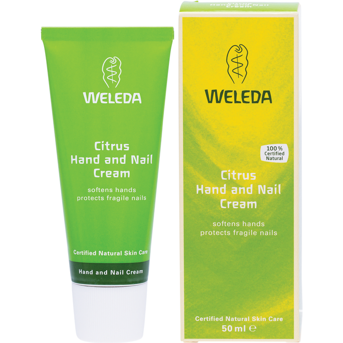 WELEDA Hand and Nail Cream Citrus 50ml