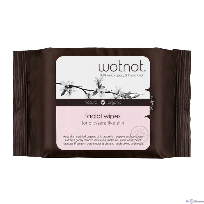 WOTNOT Sensitive Facial Wipes All Skin Types - 5