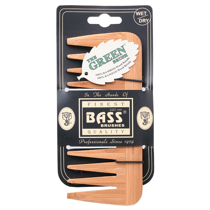 BASS BRUSHES Comb Medium Wide Tooth