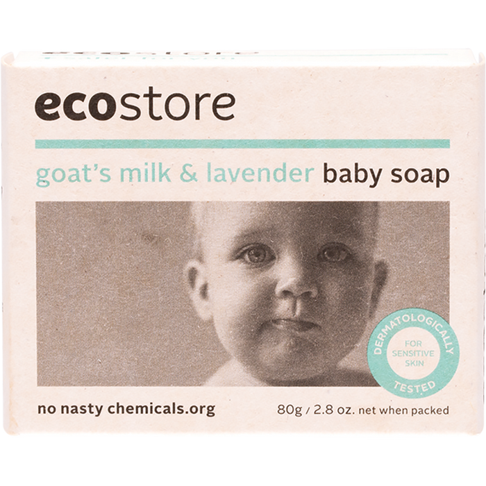 ECOSTORE Baby Goats Milk Soap 80gm