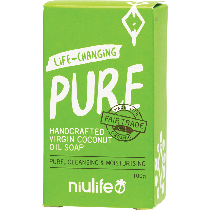 NIULIFE Soap Pure Unscented 100g