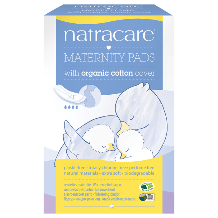 NATRACARE Maternity Pads 10